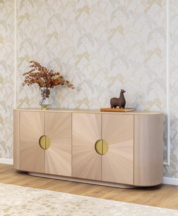 Aparador de sala, móvel com decoração
