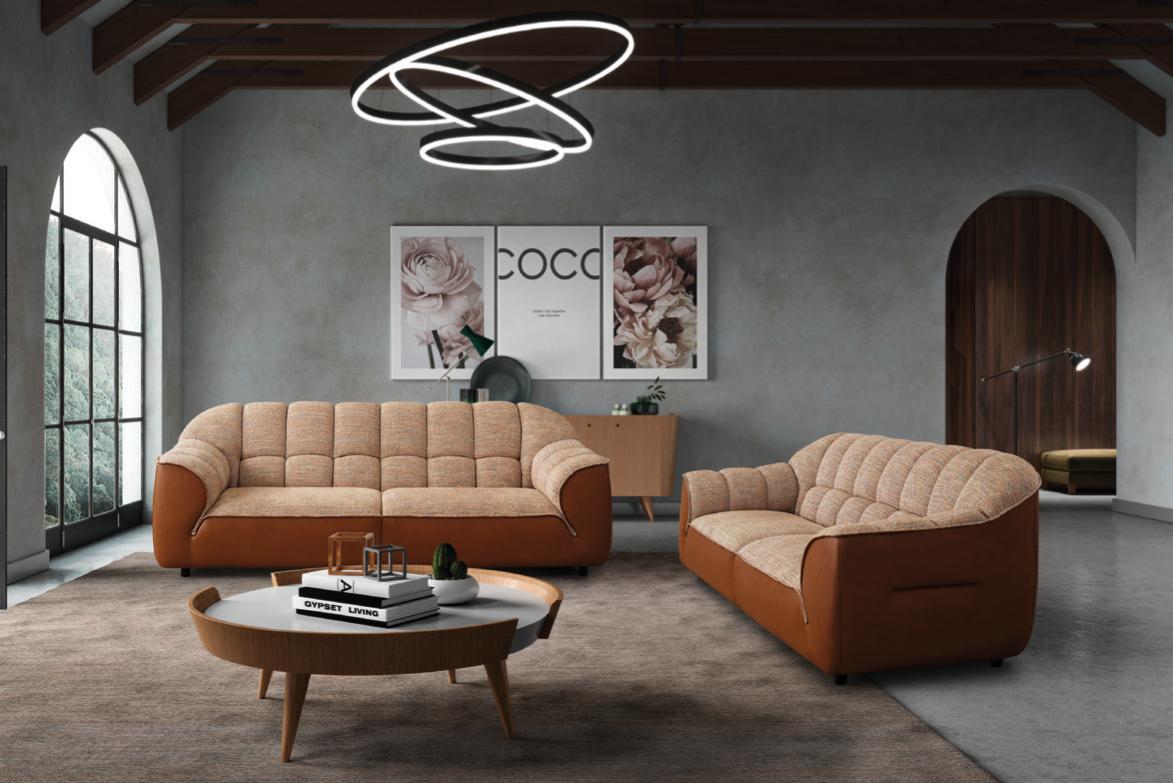Conjunto de sofá de dois lugares